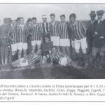 1913 Il Pisa a Livorno contro la Virtus Juventusque