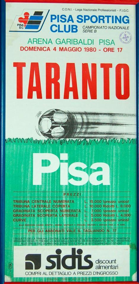 1979-80_Pisa-Taranto_locandina