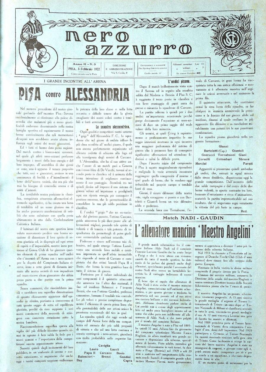 Anno II - N.3 - 5 feb 1922